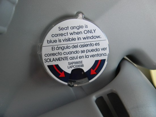 Car Seat Angle Indicator